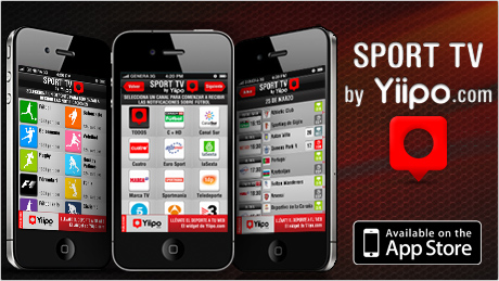 Sport TV by Yiipo disponible ya en la App Store