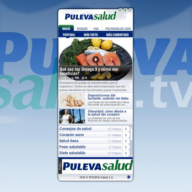 Videoconsejos de salud y nutrición gracias al widget de PulevaSalud